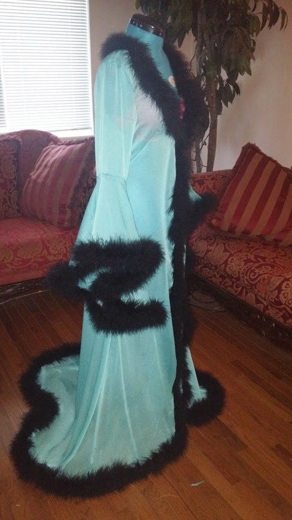 Chiffon Dressing Gown