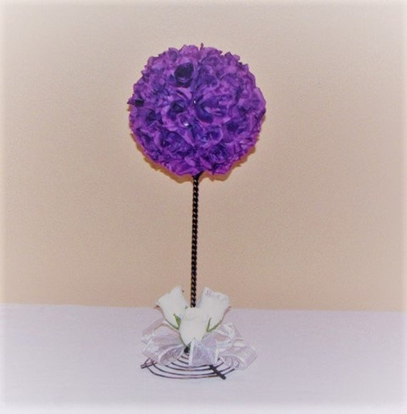 Wedding topiary wedding centerpiece silk flower kissing ball wedding topiary wedding centerpiece silk flower kissing ball centerpiece wedding silk flower topiary pomander ball wedding centerpiece mightylinksfo Choice Image