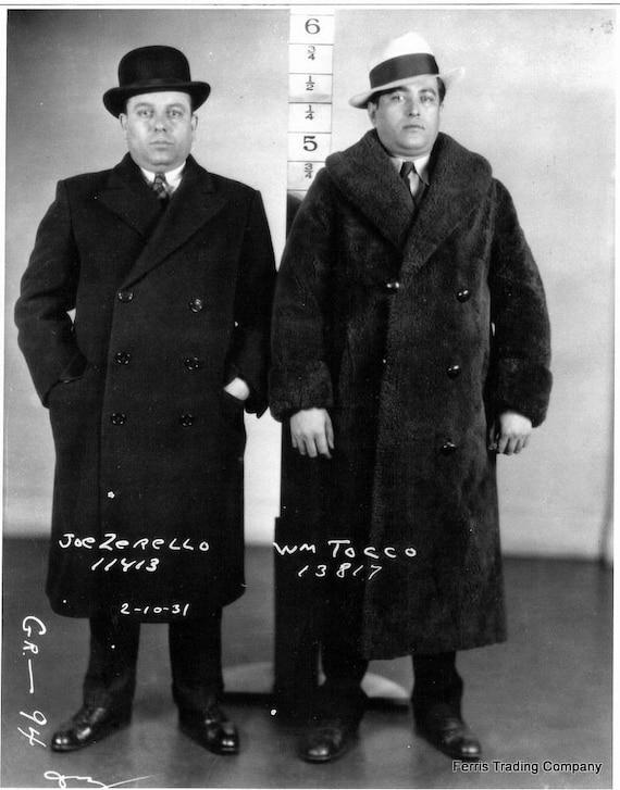 Joseph Zerilli Detroit Mafia Boss 1931 Photo Joe