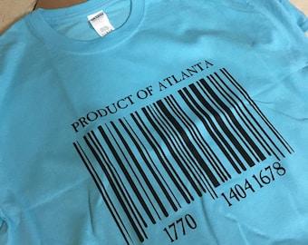 Customizable Product of... (Area Code) Tee