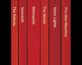Kraftwerk 'The Man-Machine' Album As Books Poster Print