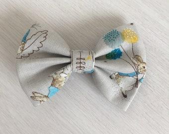 Peter Rabbit Bow(Official Beatrix Potter fabric)