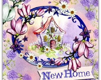 New double Home original handmade 15cm x 15cm