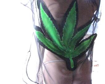 Kimono - marijuana - BDSM - see through lingerie - sheer clothing - see through shawl - sheer kimono- black kimono- mesh clothing- Recherche