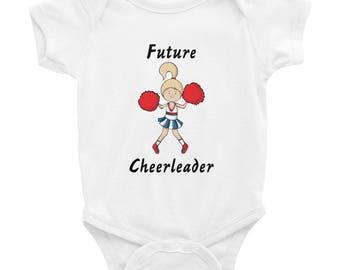 Future Cheerleader onesie cheerleading gifts for her mom life cheer mom life cheerleading gift cheer gifts cheerleaders bodysuit for babies