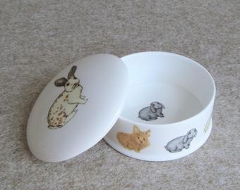 Rabbit Trinket Box