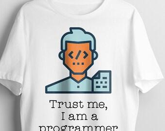 Programmer tshirt | Nerd humor tshirts | gift for him | Graphic tees | Gift Funny Geek tee | Computer Programmer | Sarcasm | funny tee