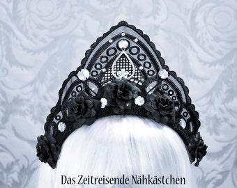 Kokoshnik, Kopfschmuck, Spitze, Haarreif, Gothic #4