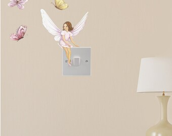 fairy decal, Fairy decals, fairies, fairy wall stickers, fairy wall decals, fairy art, fairies, girls wall stickers, girls decals,