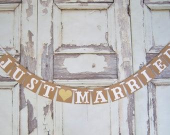 Just Married Banner, Just Married sign, Just married banners, wedding banner for car, Just Married Sign, Wedding Banner, wedding signs