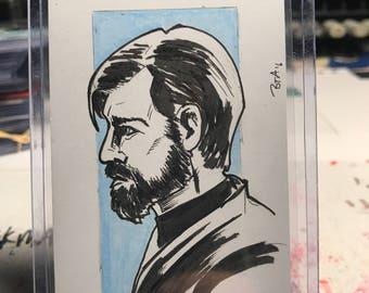 Obi-Wan Kenobi Sketch Card