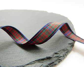Macdonald Tartan Ribbon 10mm Wide Per Metre Berisfords