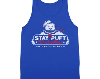 Stay Puft Funny 80S Geek Humor Marshmallows Ghost Busters Tank Top DT1828