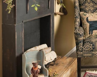 Faux Fireplace Mantle  on  SALE Also in the Country Sampler  With FREE SHIPPING !!!  ( New England Style )