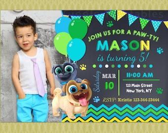Puppy Dog Pals Invitation. Puppy Dog Pals Party Invitation. DIY Puppy Dog Pals Birthday Party. Puppy Dog Pals Printable. DIGITAL FILE.