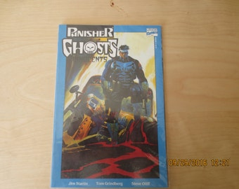 PUNISHER GHOSTS BOOK 1 of 2 Never Read In Plastic Mint Box 8