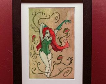Poison Ivy Archival Art Print