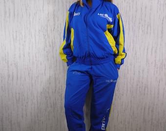 Vtg Asics Privileg Training Suit Set Active Gym