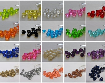6mm Edible Sugar Diamonds Cupcake Wedding Cake Toppers Sprinkles Gumpaste Fondant Bling