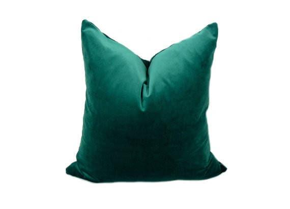 gr n petrol samt kissenbezug gr n petrol samt kissen fall. Black Bedroom Furniture Sets. Home Design Ideas