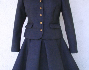 Amazing Skirt and Jacket Suits--1950s Style Couture
