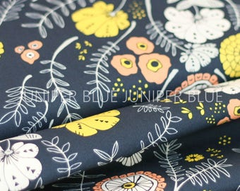 Meadow Vale Dark, Tule Collection, Art Gallery Fabrics, Quilting Weight Cotton Fabric