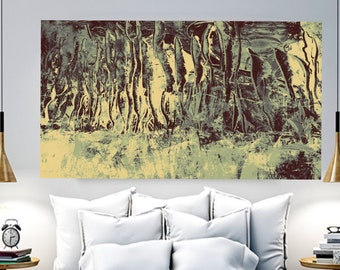 large print abstract landscape painting  original acrylic painting abstract original modern canvas acrylic fine wall art living room  decor