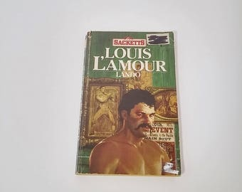 Lando by Louis L'Amour  Paperback  Western