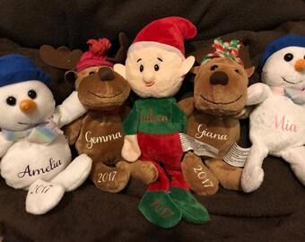 Custom Christmas Stuffed Animals