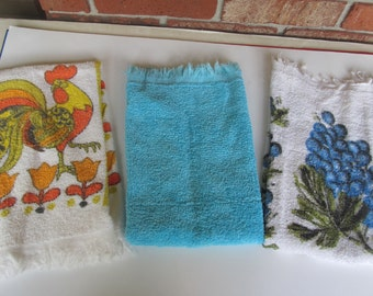 Vintage Kitchen  Towels - used Hand Towels