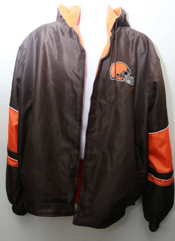 90's Vintage Exclusive Insulated Men's Rare Reversible BROWNS