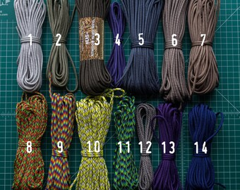 SALE 550 paracord type III commercial 7 strand nylon made in USA - 10 feet
