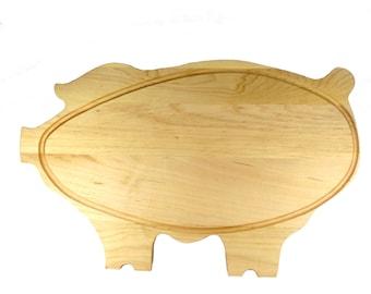 """The Big Pig Cutting Board - Maple - 19"""" x 12"""" x 7/8"""""""