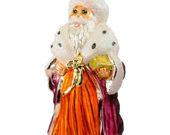 Christopher Radko - Autumn Dream - Christmas Ornament - Tree Decoration - Santa - Vintage - Retired