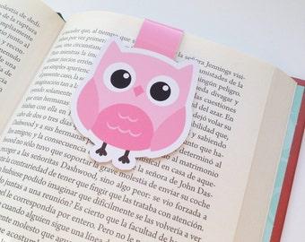 Owls Magnetic Bookmark - Owl  Bookmark