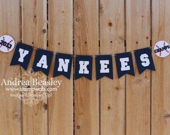 Baseball Team Banner