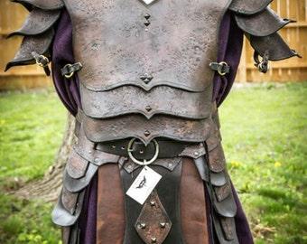 Leather Viking Warlord Armor