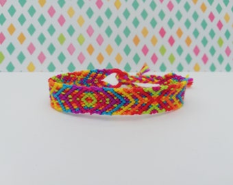 Friendship bracelet-Hand made knotted friendship Band-macramé