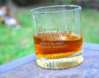 Blanton's Bourbon Old Fashioned Glass