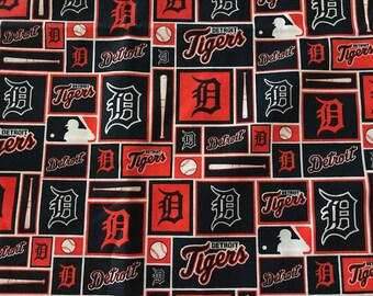 Detroit Tigers Pillow Cover