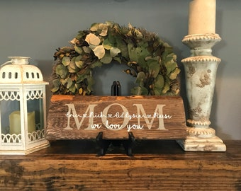 Mothers Day Mom Pallets, Pallet Art, Wooden Wall, Farmhouse Decor