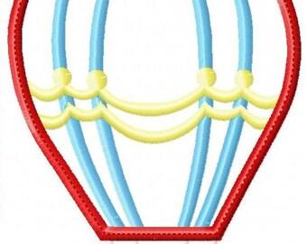 Hot Air Balloon 3 Machine Embroidery Design