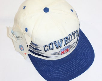 Vintage Dallas Cowboys Logo Athletic Diamond Snapback Hat