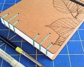 Leaf Sketchbook with wate...