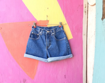 Vintage 1990s JORDACHE Denim Jean Shorts (YOUTH Size 10/12)