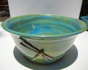 Dragonfly Bowl Small Stoneware