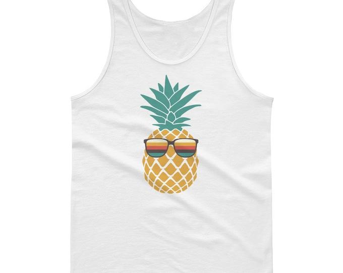 Vacation Tank, Pineapple Shirt, Pineapple Tank, Summer Tank, Beach Tank, Workout Tank