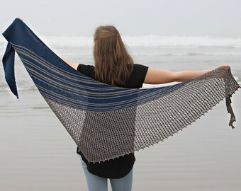 Surf Shawl | PDF knitting pattern