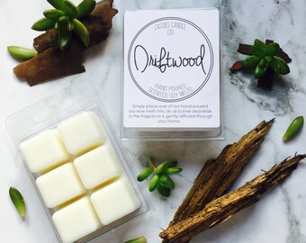 Driftwood Scented Soy Wax Clamshell Melts