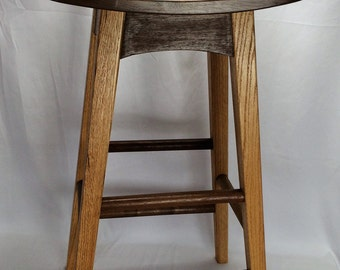 Curved Seat Bar Stools